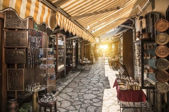 薩拉熱窩~阿拉伯市場