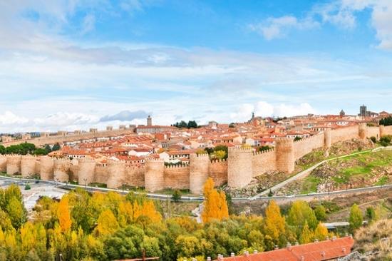 西班牙~阿維拉~古城牆
