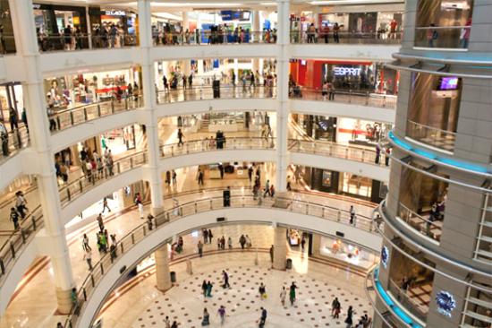 吉隆坡雙子塔購物城