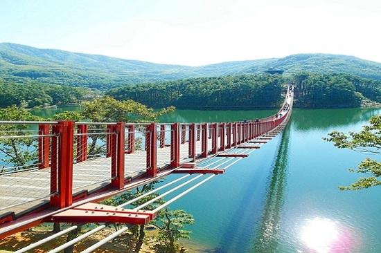 馬場湖水吊索橋