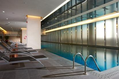 新竹豐邑喜來登酒店游泳池