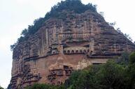 《世界文化遺產》麥積山石窟