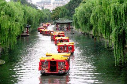 大明湖遊船