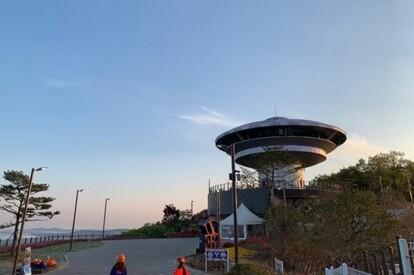 江華島LUGE斜坡滑車旋轉展望台