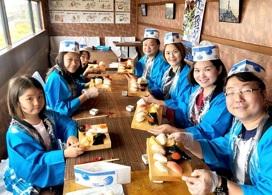 【製作壽司體驗及玄海Satsuki溫泉半天團 】福岡自由行套票3-31天