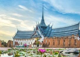 【古城76府& 三頭象神博物館】曼谷自由行套票3-14天