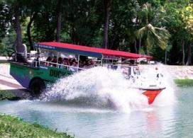 【水陸兩棲鴨子船遊覽】新加坡自由行套票3-14天