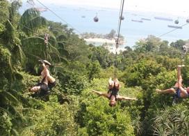 【聖淘沙極限飛索及攀登跳躍體驗】新加坡自由行套票3-14天