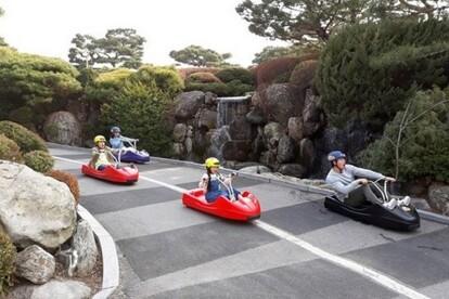 江華島LUGE斜坡滑車體驗