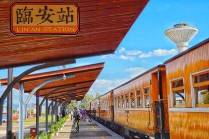 建水古城米軌小火車