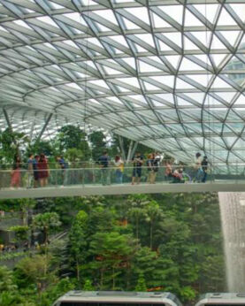 【星耀樟宜鏡子迷宮+星空花園門票】新加坡自由行套票3-14天