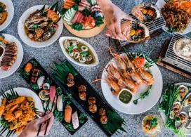 【曼谷河岸海鮮自助餐】憑推廣碼「GP126」每位勁減$200|曼谷自由行套票3-14天