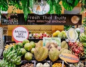【Fruit Court Buffet 水果任食放題 】 │曼谷自由行套票3-14天