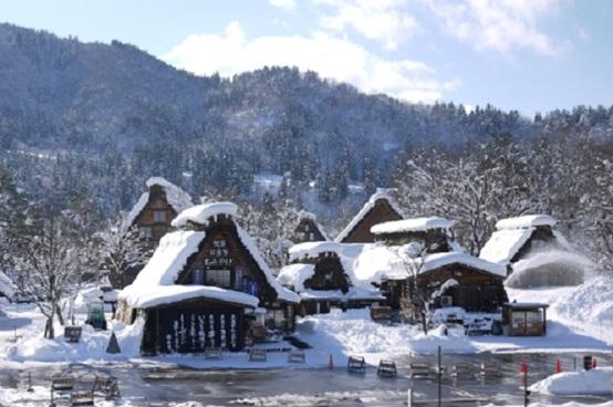 名古屋、北陸冬遊5天溫泉之旅