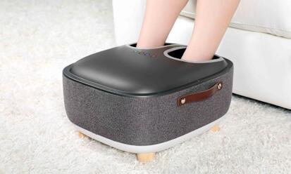 OTO Qseat 足部按摩器 QS-88 (冷酷灰) +另送OTO無線深層按摩器 (價值$1080) [只限OTO 專門店自取]
