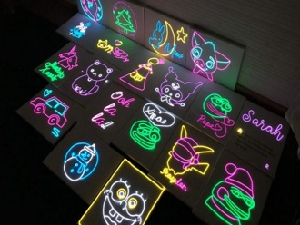 【觀塘】迷你霓虹燈DIY工作坊 (需二次確認)