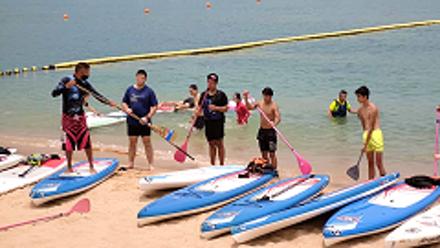 【長洲】SUP証書教學課程 (連教練及器材收費) @J&J Water Sports Center (需二次確認)