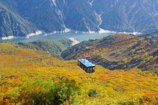 秋の立山黑部天然奇景5天團 《11月16日前出發適用》