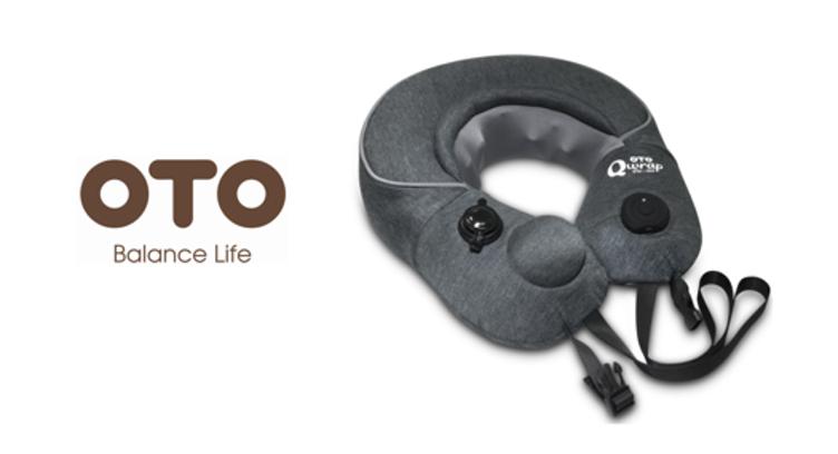 OTO Qwrap 無線充氣按摩頸枕 ($468)