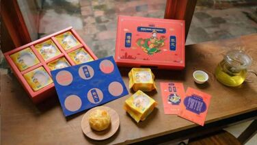 皇上不上朝 | 菠蘿蛋黃酥賀年禮盒 (6入裝) 【港澳限定】