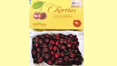 【澳洲直送】塔斯曼尼亞Reid Fruits金袋鼠 車厘子 30mm+ (約2kg)