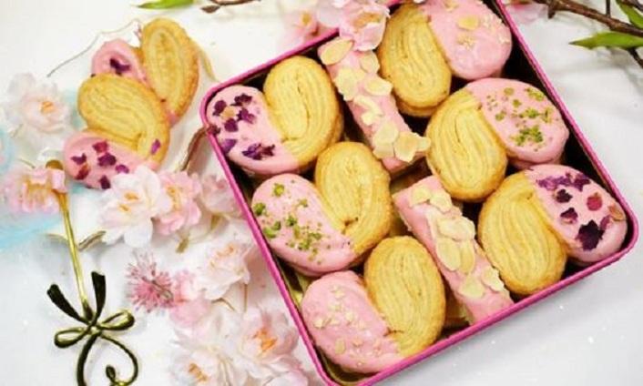 【季節限定】Conte de cookie 曲奇童話 - 草莓朱古力蝴蝶酥 (禮盒裝) 優惠價$195 原價$228