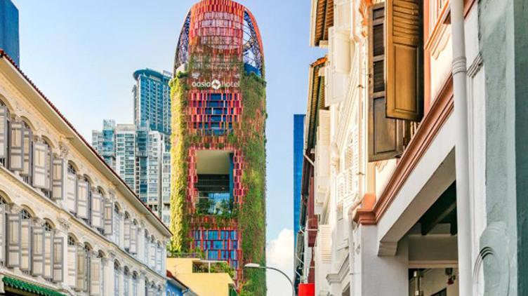 新加坡市中豪亞酒店+國泰航空機票套票