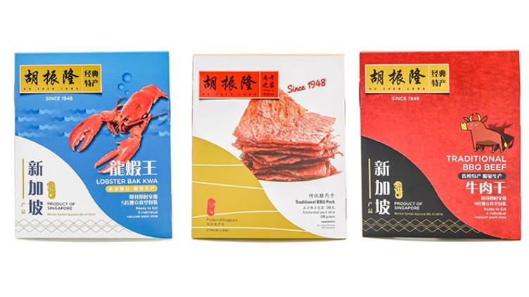 【新加坡直送】胡振隆 豬肉乾/牛肉乾/龍蝦肉乾 $165
