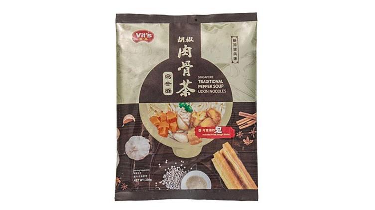 【馬來西亞直送】唯一面 - 胡椒肉骨茶烏冬麵 $36