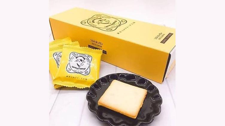 【夏季限定】Tokyo Milk Cheese Factory 檸檬奶油夾心餅乾(一盒十件)$122
