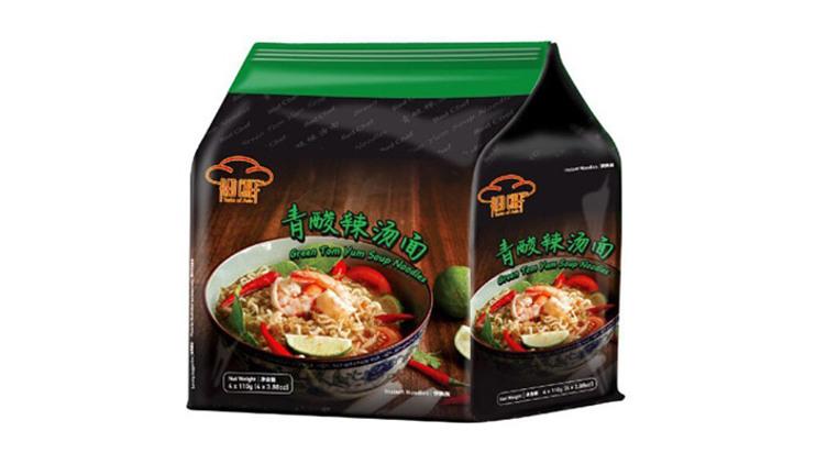 【馬來西亞直送】紅廚 - 青酸辣湯麵  $44