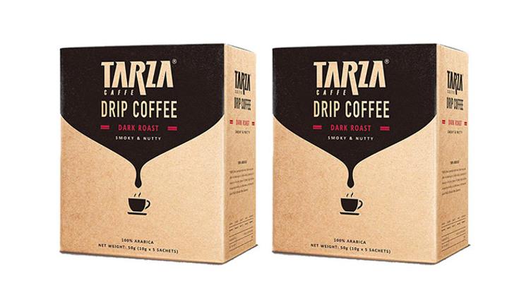 TARZA 掛耳滴漏咖啡(深度烘焙) (2盒裝) $59