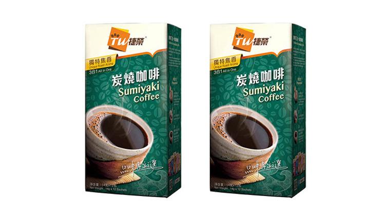 捷榮 三合一炭燒咖啡 (2盒裝) $28