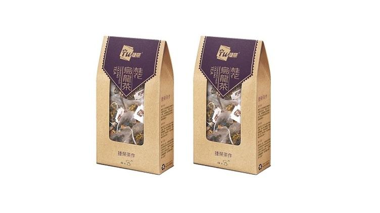 捷榮 桂花烏龍茶原葉茶包 (2盒裝) $42