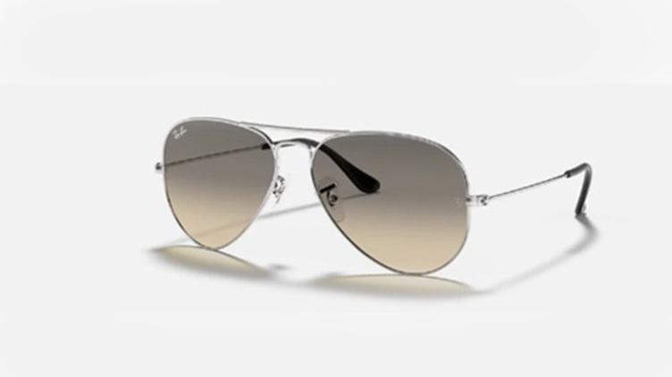 Ray-Ban Aviator 太陽眼鏡 (RB3025) - 漸變 銀框 x 灰鏡$1038起/每副 原價$1600起