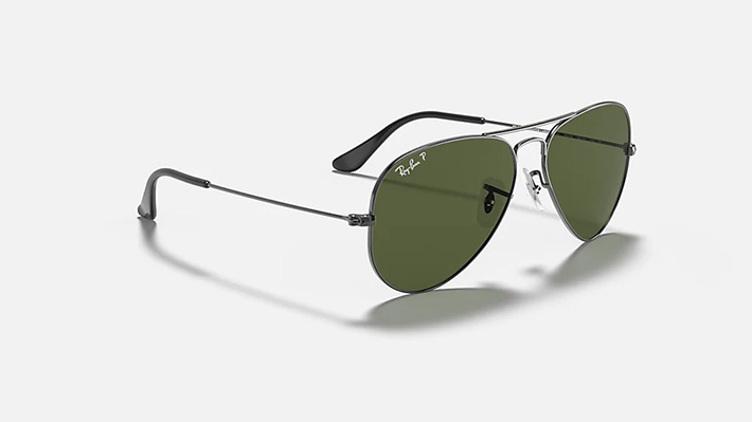 Ray-Ban Aviator 太陽眼鏡 (RB3025) - G15 黑框 x 綠鏡$938起/每副 原價$1500起