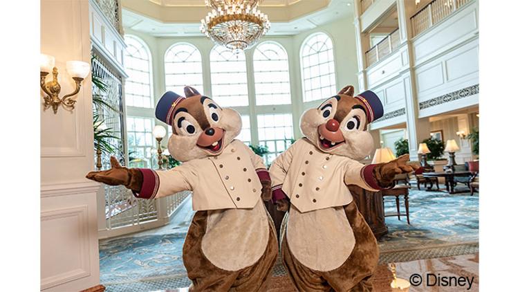 【香港迪士尼樂園酒店】 標準客房住宿一晚 + 早餐 / 每位$878起