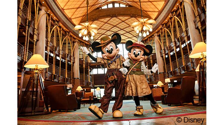 【迪士尼探索家度假酒店】 標準客房住宿一晚+早餐 / 每位$978起